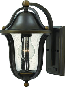 Bolla 1-Light Outdoor Wall Light Olde Bronze