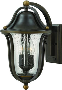 Hinkley Bolla 2-Light Outdoor Wall Light Olde Bronze 2644OB