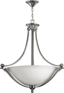 Hinkley Bolla 3-Light LED Foyer Pendant Brushed Nickel 4664BNLED