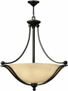 "31""w Bolla 4-Light Pendant Olde Bronze"