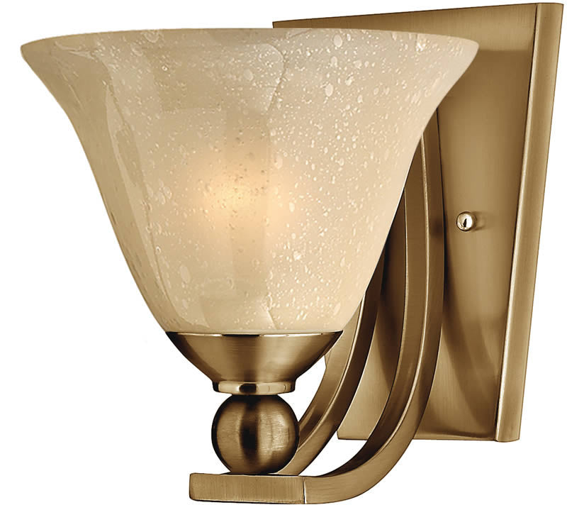 "8""w Bolla 1-Light Wall Sconce Brushed Bronze"