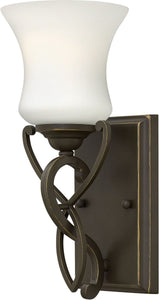 Brooke 1-Light Bath Vanity Olde Bronze