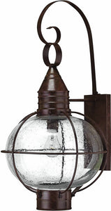 Hinkley Cape Cod 1-Light Extra-Large Outdoor Wall Lantern Sienna Bronze 2205SZ