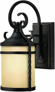 Hinkley Casa 1-Light Outdoor Wall Lantern Olde Black 1144OL