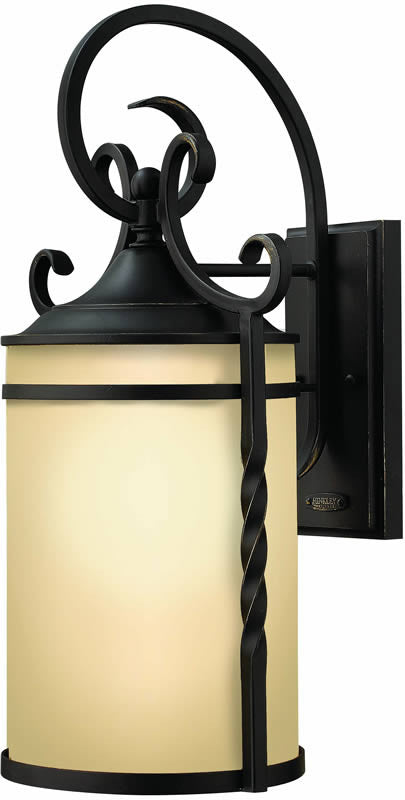 "21""h Casa 1-Light Large Outdoor Wall Lantern Olde Black"