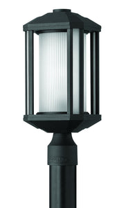 Hinkley Castelle 1-Light Outdoor Post Light Black 1391BK-LED