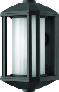 Hinkley Castelle 1-Light Outdoor Wall Light Black 4244PL