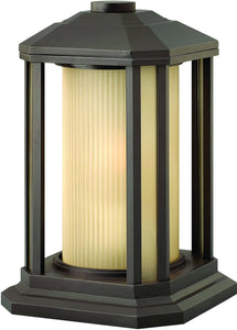 Hinkley Castelle 1-Light Outdoor Wall Light Bronze 1397BZ-LED