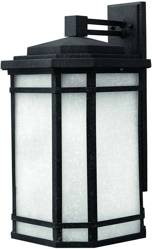 "21""h Cherry Creek 1-Light Large Outdoor Wall Lantern Vintage Black"