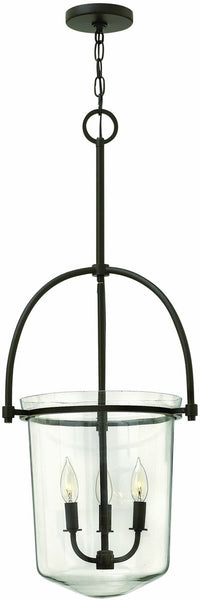 Hinkley Clancy 3-Light Chandelier Buckeye Bronze 3033KZ