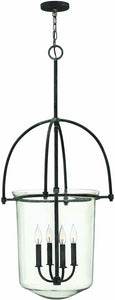 Hinkley Clancy 4-Light Chandelier Aged Zinc 3034DZ