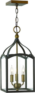 Hinkley Clarendon 3-Light Chandelier Bronze 3413BZ