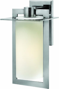Hinkley Colfax 1-Light Outdoor Wall Light Polished Stainless Steel 2924PS