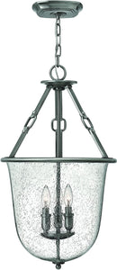Hinkley Dakota 3-Light Chandelier Polished Antique Nickel 4783PL