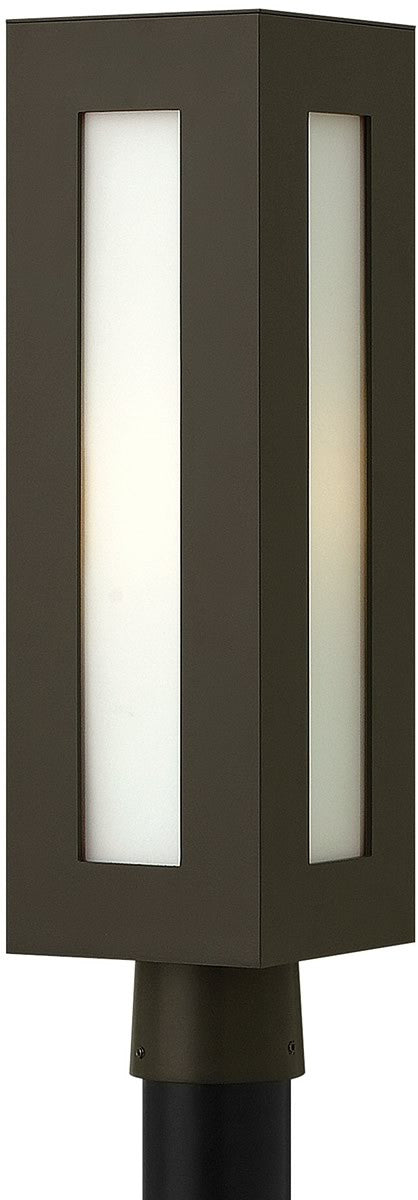 "21""h Dorian 1-Light Post Outdoor Bronze"