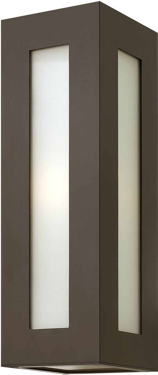 "18""h Dorian 1-Light Wall Outdoor Bronze"