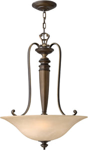 Hinkley Dunhill 3-Light Chandelier Royal Bronze 4594RY