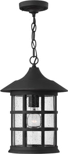 "10""w Freeport 1-Light LED Outdoor Hanging Light Black"