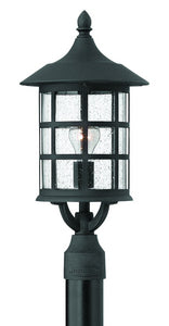 Hinkley Freeport 1-Light Outdoor Post Light Black 1801BK-LED