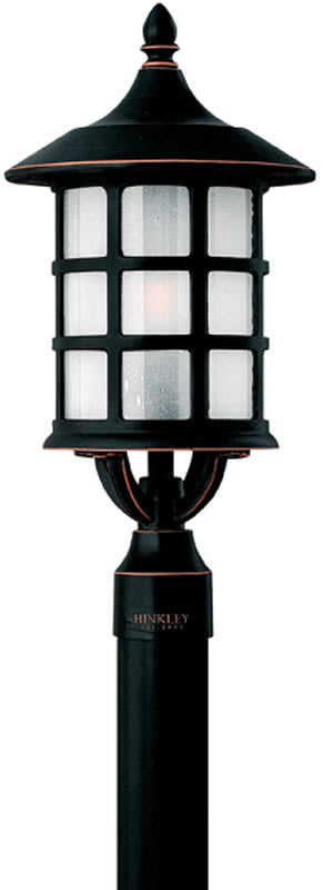 "20""h Freeport 1-Light Outdoor Post Mount Old Penny"