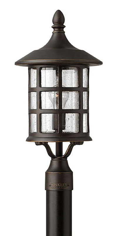 "20""h Freeport Outdoor Post Lantern Oil Rubbed Bronze"