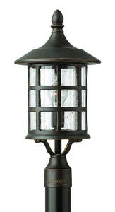 Hinkley Freeport 1-Light Outdoor Post Light Oil Rubbed Bronze 1801OZ-LED