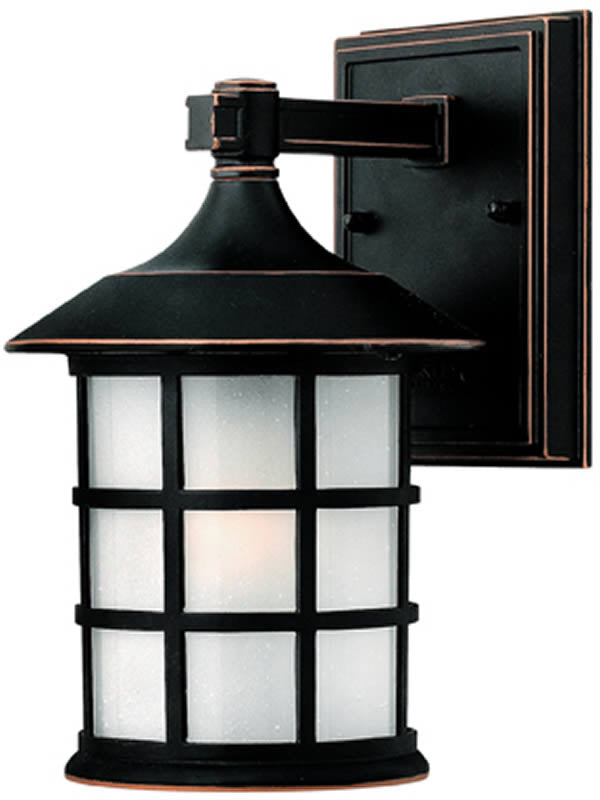 "9""H Freeport 1-Light Outdoor Wall Mount Old Penny"