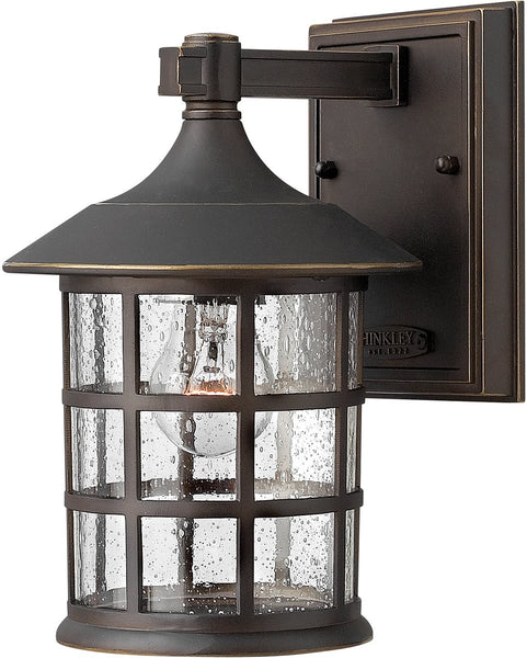 "9""h Freeport 1-Light LED Wall Outdoor Oil Rubbed Bronze"