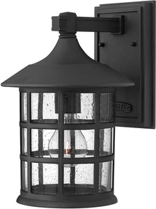 Hinkley Freeport 1-Light LED Outdoor Wall Light Black 1804BKLED