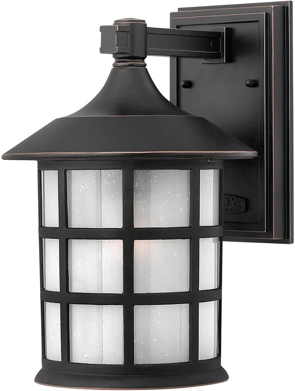 "12""h Freeport 1-Light LED Outdoor Wall Mount Old Penny"