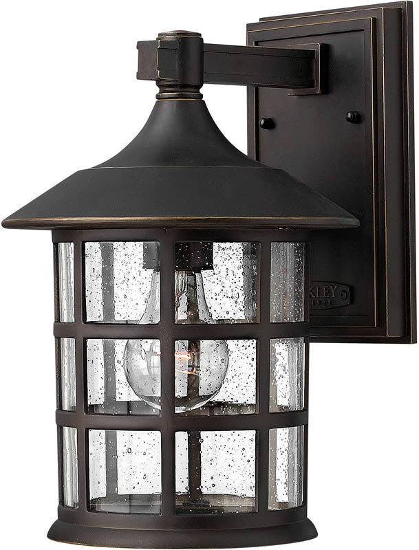 "12""h Freeport 1-Light LED Outdoor Wall Mount Oil Rubbed Bronze"