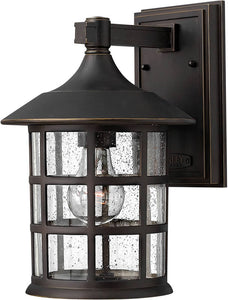 Hinkley Freeport 1-Light LED Outdoor Wall Mount Oil Rubbed Bronze 1804OZLED