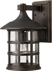 Hinkley Freeport 1-Light LED Outdoor Wall Mount Oil Rubbed Bronze 1805OZLED