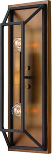 Fulton 2-Light Wall Sconce Bronze