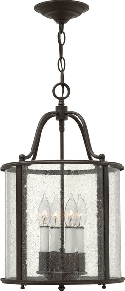 Hinkley Gentry 4-Light Foyer Light Olde Bronze 3474OB