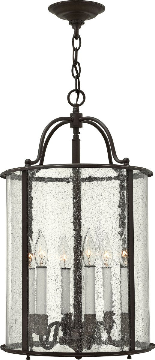 Gentry 6-Light Foyer Light Olde Bronze