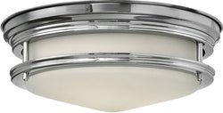 Hinkley Hadley 1-Light LED Flush-Mount Foyer Light Chrome 3302CMLED