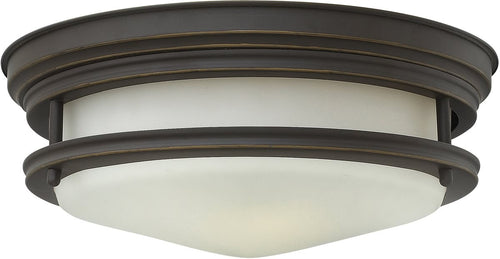 Hinkley Hadley 2-Light Flush Foyer Oil Rubbed Bronze 3302OZ