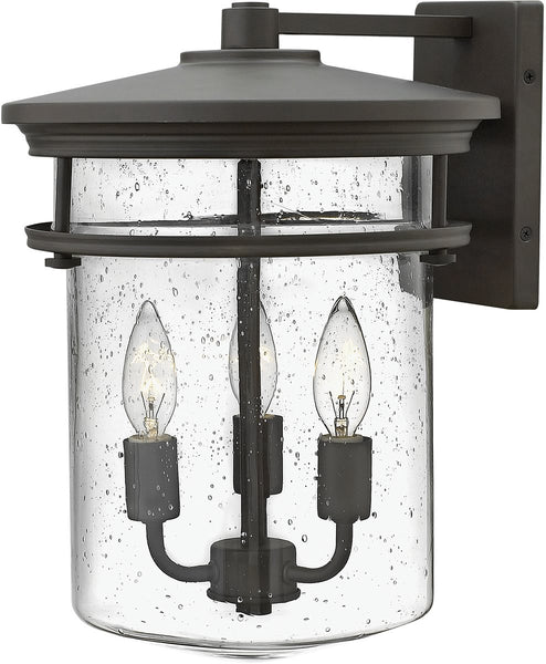 Hinkley Hadley 3-Light Outdoor Wall Light Buckeye Bronze 1625KZ
