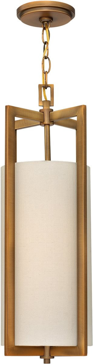 "9""w Hampton 1-Light Foyer Brushed Bronze"
