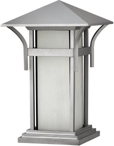 Hinkley Harbor 1-Light LED Pier Mount Outdoor Titanium 2576TTLED