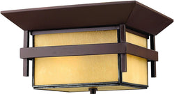 Hinkley Harbor 1-Light Outdoor Ceiling Light Anchor Bronze 2573AR-LED