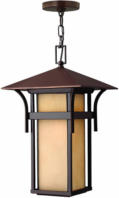 "11""w Harbor 1-Light Outdoor Pendant Anchor Bronze"