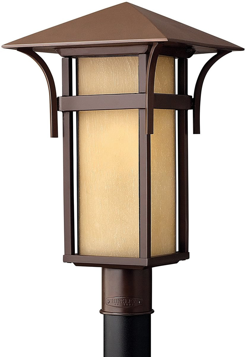 "20""H Harbor 1-Light LED Post Outdoor Anchor Bronze"