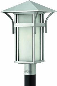 "20""h Harbor 1-Light Outdoor Post Lantern Titanium"