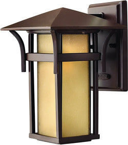 Hinkley Harbor 1-Light Outdoor Wall Light Anchor Bronze 2570AR-LED