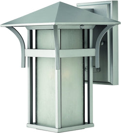 Harbor 1-Light Outdoor Wall Light Titanium
