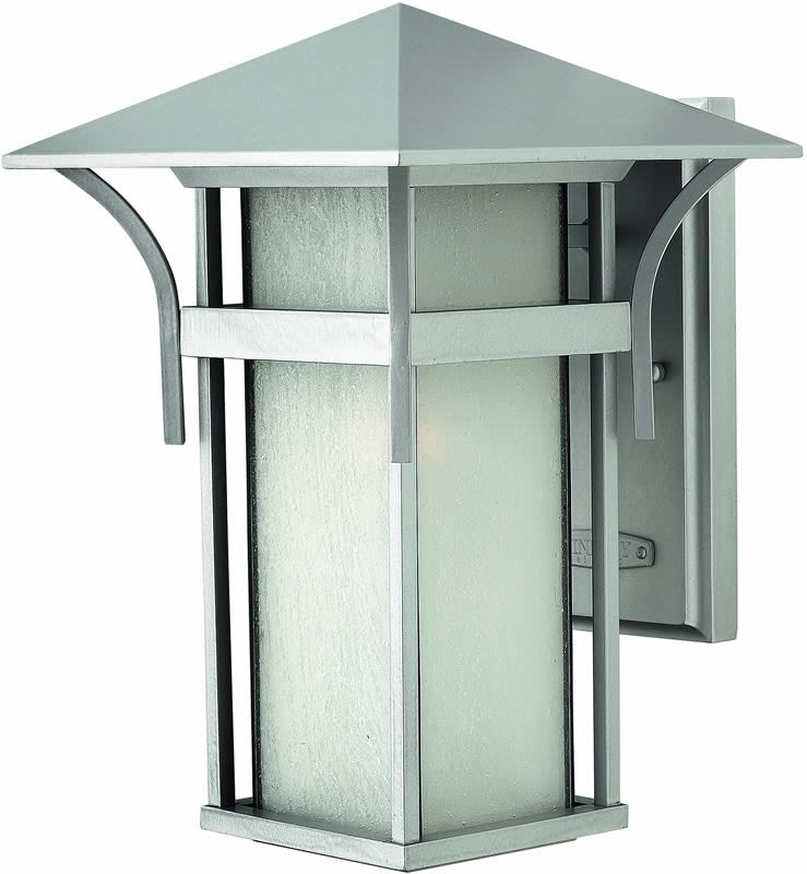 "14""h Harbor 1-Light Outdoor Wall Lantern Titanium"