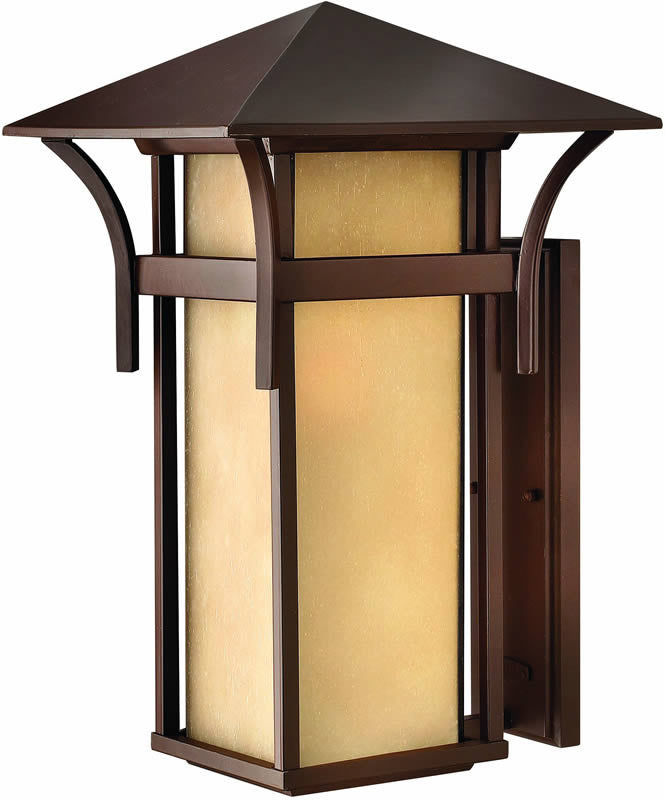 "21""h Harbor 1-Light Outdoor Wall Lantern Anchor Bronze"
