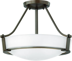 Hathaway 3-Light Chandelier Olde Bronze